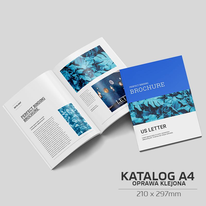 Katalog klejony A4 - 100szt.