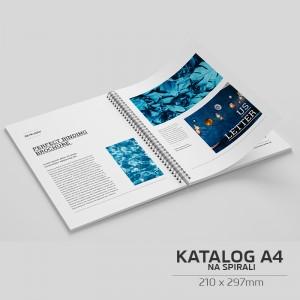 Katalog spiralowany A4 - 100szt.