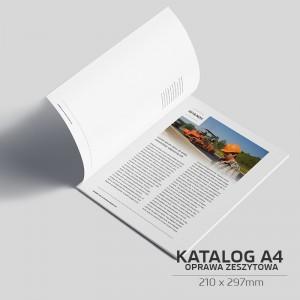 Katalog szyty A4 - 8 stron - 1000szt.