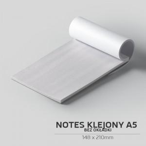 Notes klejony bez okładki A5 - 50szt.