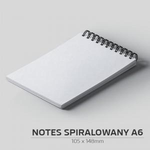 Notes spiralowany A6 - 200szt.