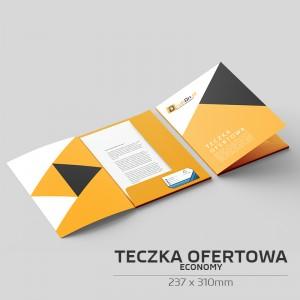 Teczka ofertowa A4 (237 x 310mm) - ECONOMY